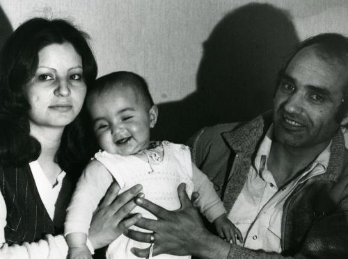 Familie Nima in Bochum. Foto © Dietrich Stahlbaum 1982