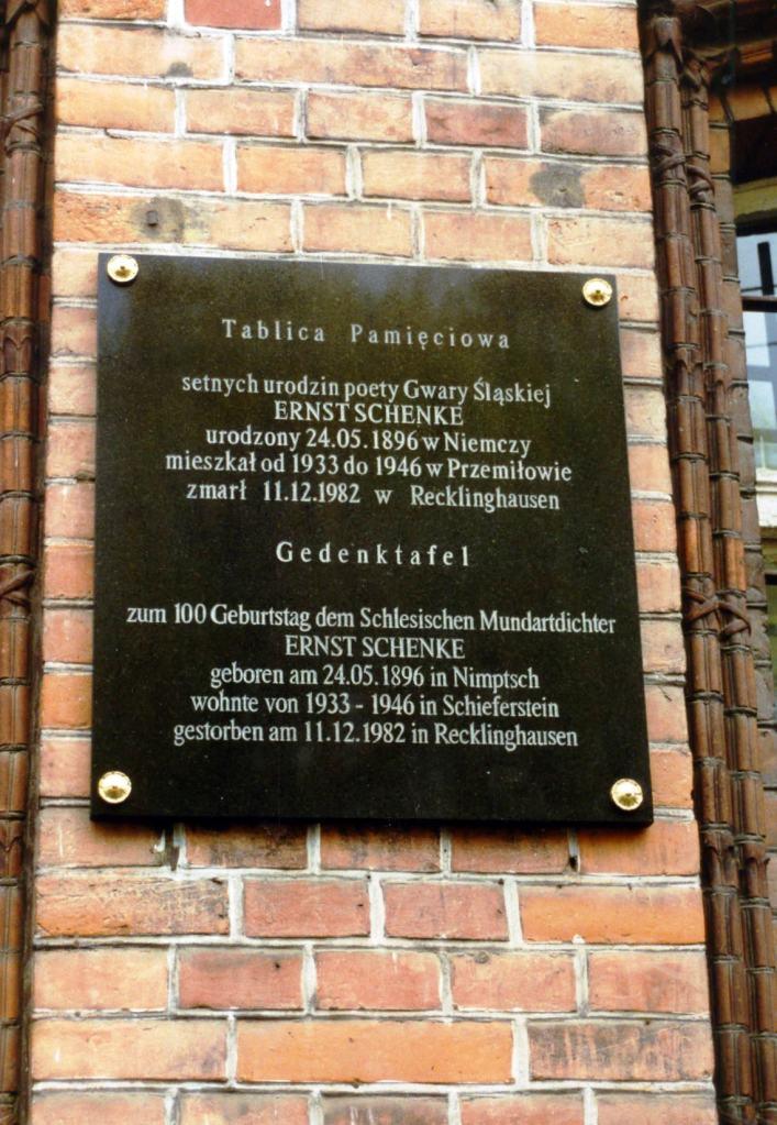Schenke-Gedenktafel
