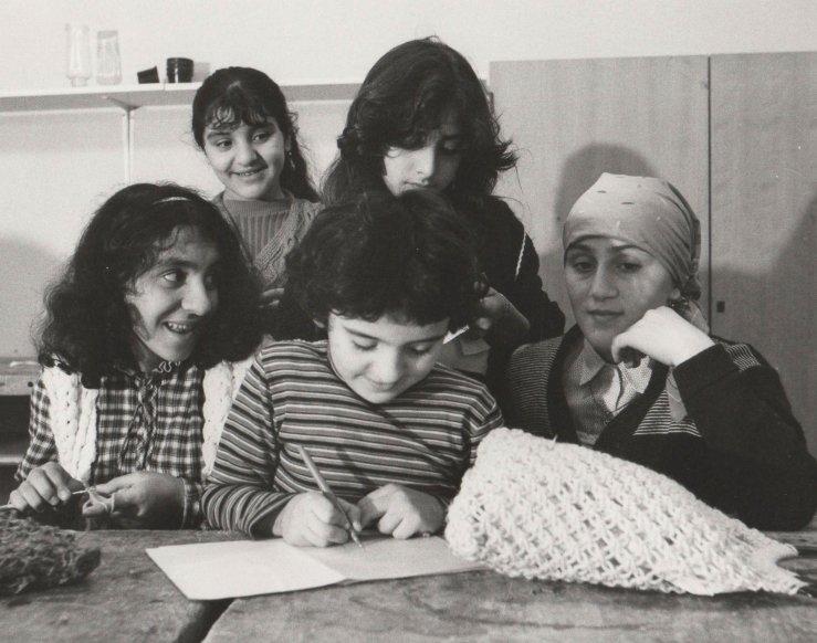 Türkische Kinder lernen Deutsch, 1982
