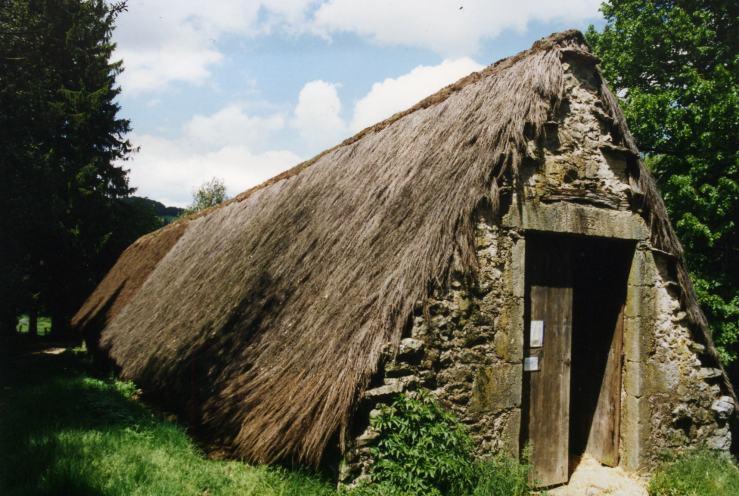 Ginsterstrohhaus, Languedoc