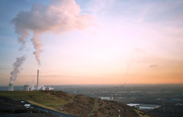 Es ist die größte Abraumhalde des Bergbaus in Europa.
