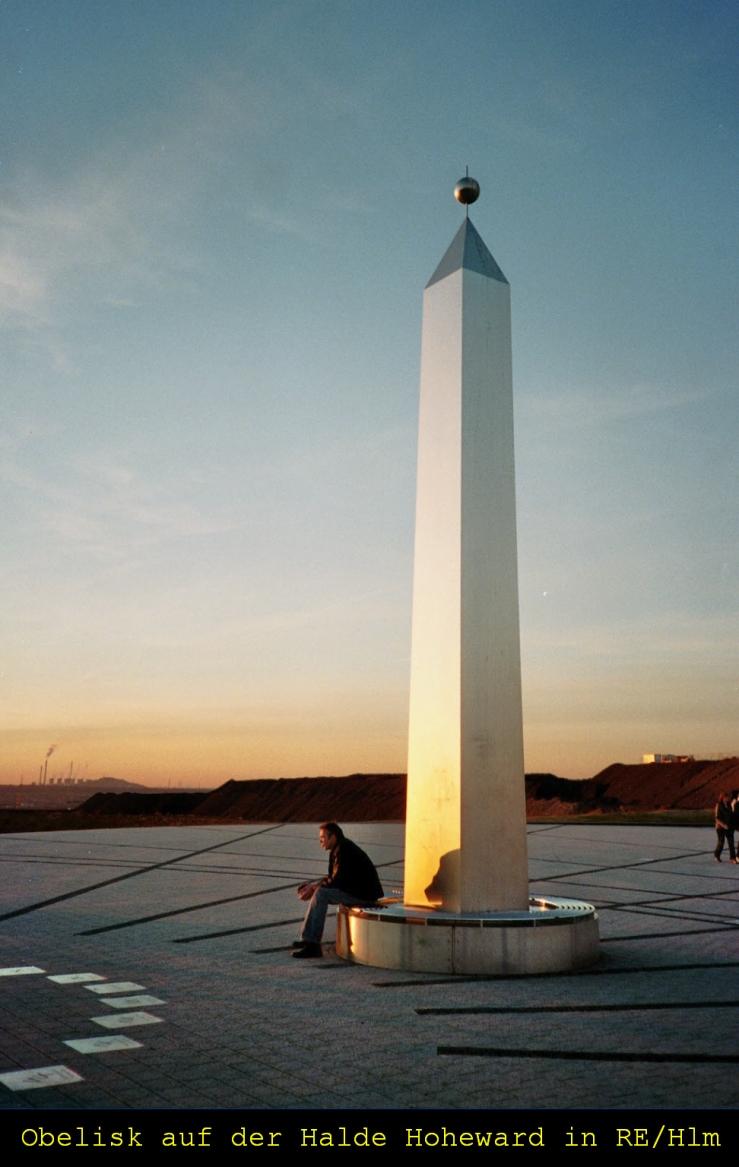 Der Obelisk als Zeiger der Sonnenuhr