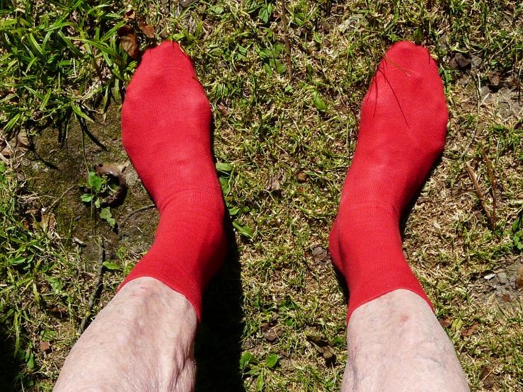 Die roten Socken