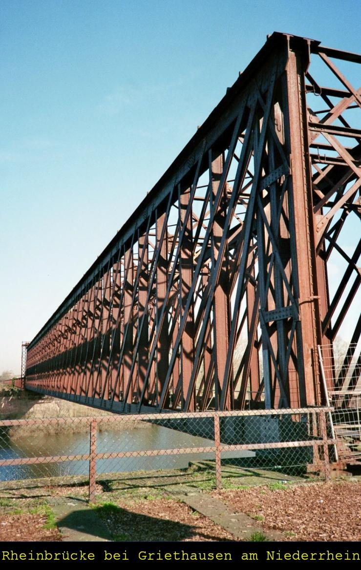 Älteste Eisenbahnbrücke Ds-