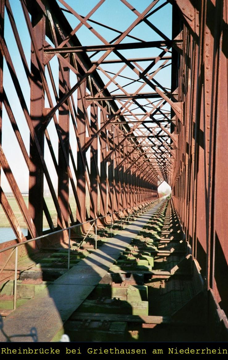 Älteste Eisenbahnbrücke Ds