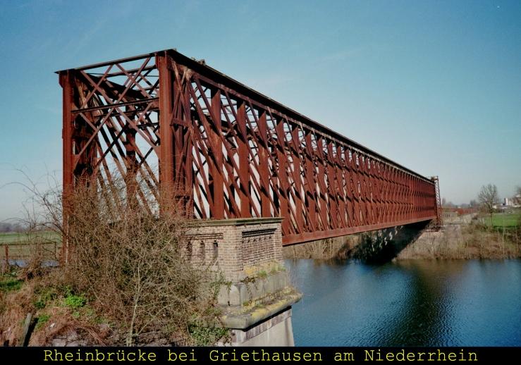 Älteste Eisanbahnbrücke Ds