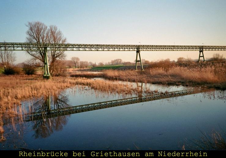 Älteste Eisenbahnbrücke Deutschlands