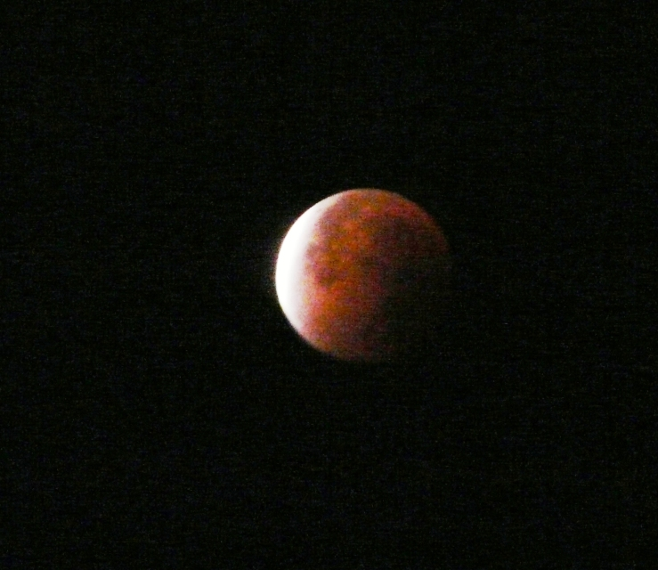 Mondfinsternis am 28.09.15
