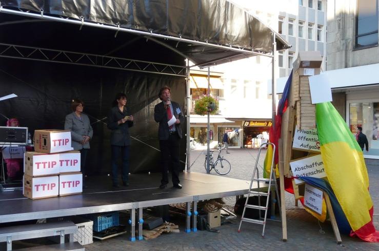 Anti-TTIP-Aktion