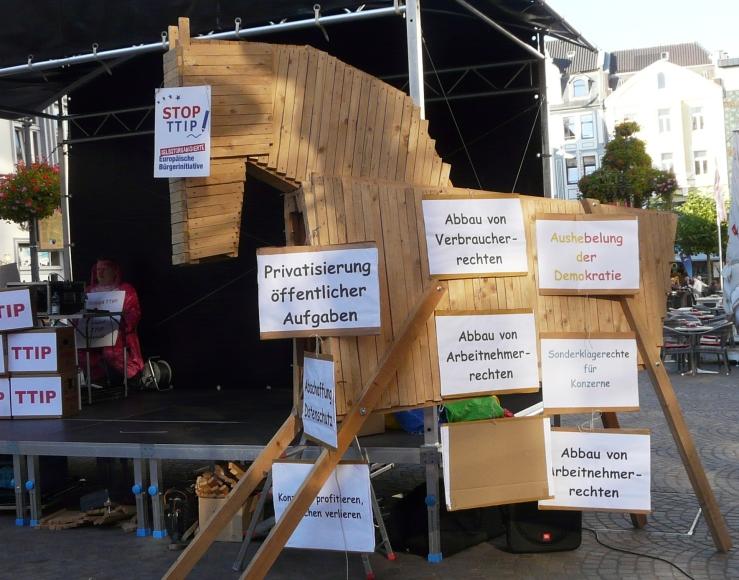 TTIP ein Trojanisches Pferd