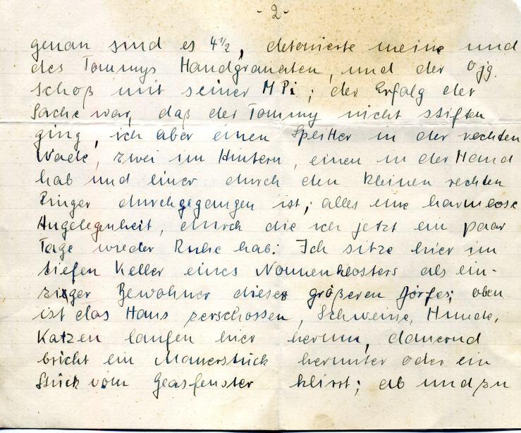 5. Feldpostbrief 15.10.1944