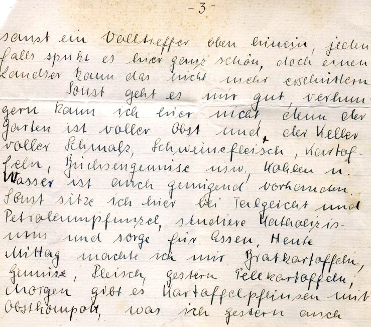 6. Feldpostbrief 15.10.1944