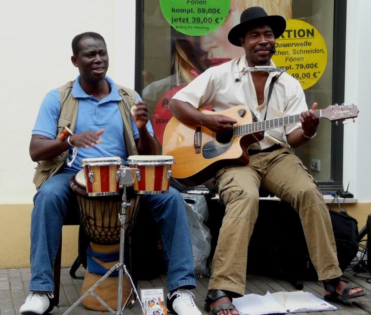 Straßenmusiker in Recklinghausen