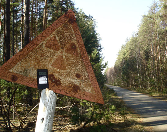 Straße nach Tschernobyl
