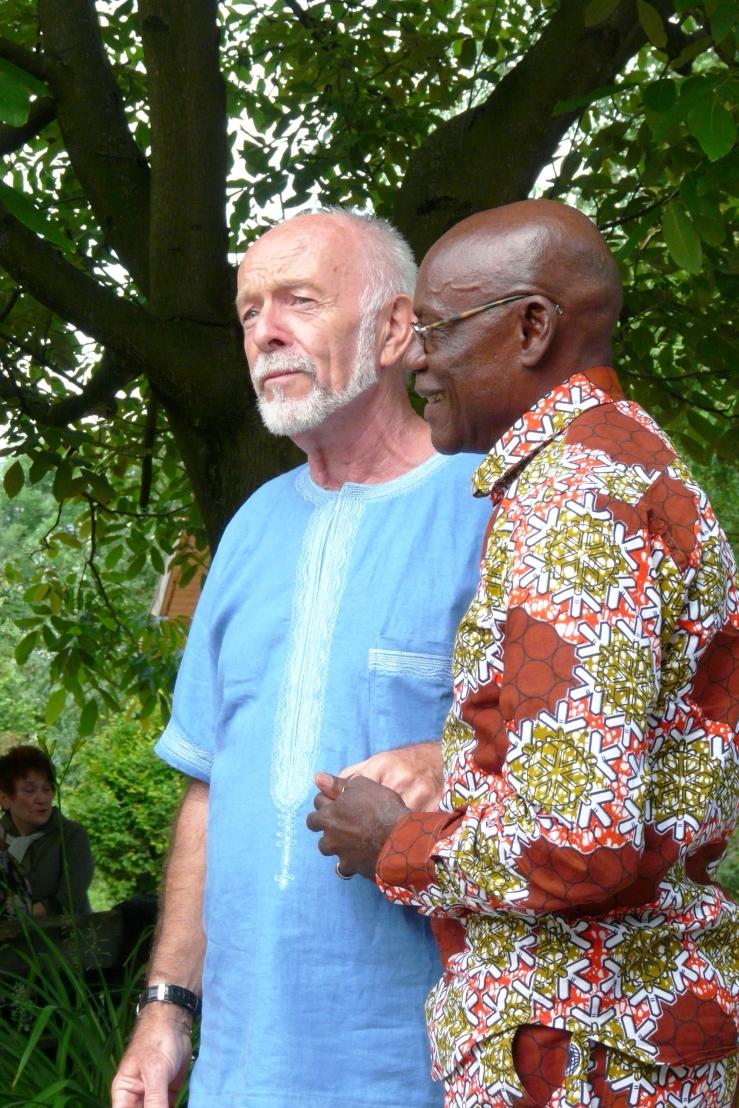 Walter Schorm (l.) und Mathias Bassama