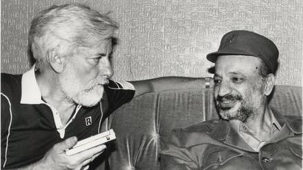 Uri Avnery und Arafat